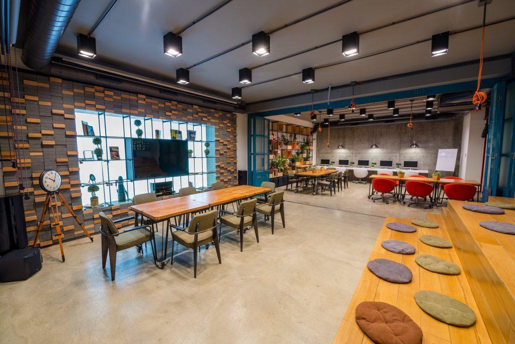 Iluminación oficina moderno